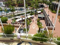 Monaco - Blick auf Fontvieille -- Monaco - Blick auf Fontvieille