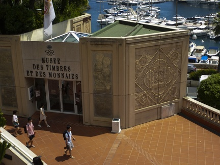 Monaco - Musée des Timbres et des Monnaies -- Monaco - Musée des Timbres et des Monnaies