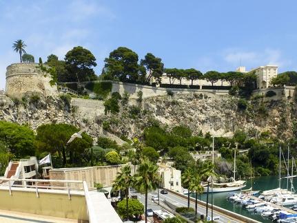 Monaco - Blick auf Le Palais Princier -- Monaco - Blick auf Le Palais Princier