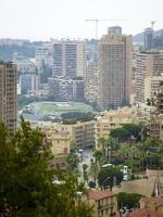 Monaco - Innenstadt -- Monaco - Innenstadt
