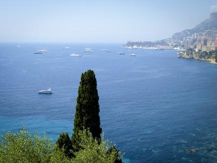Monaco - Blick aufs Meer -- Monaco - Blick aufs Meer