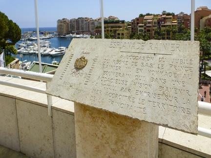 Monaco - Esplanade Rainier III -- Monaco - Esplanade Rainier III
