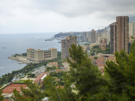 Monaco - Blick auf das Casino -- Monaco - Blick auf das Casino