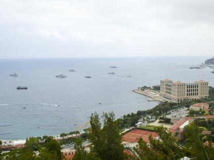 Monaco - Blick auf Monte Carlo -- Monaco - Blick auf Monte Carlo