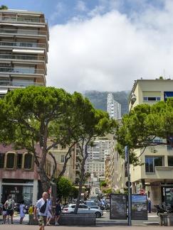 Monaco - Rue Suffren Reymond -- Monaco - Rue Suffren Reymond