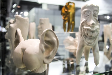 Zahnfiguren -- IDS 2015 Köln - Zahnfiguren auf der IDS 2015 Köln