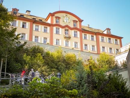 Deutschordenschloss -- Insel Mainau - Deutschordenschloss auf Insel Mainau von Familie Bernadotte am Bodensee
