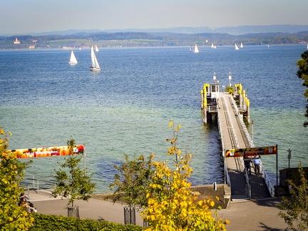 Hafen -- Insel Mainau - Hafen auf Insel Mainau am Bodensee in Baden Würtemberg