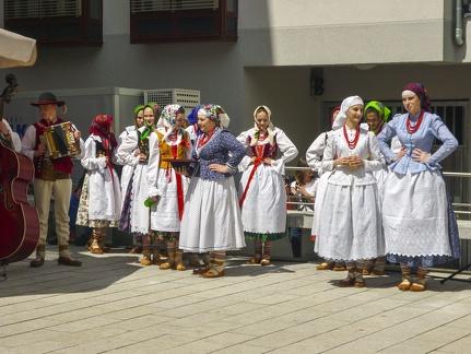 polnische Tanzgruppe beim Landesfest 2015 -- Sigmaringen - polnische Tanzgruppe beim Landesfest 2015 in Sigmaringen (Baden Würtemberg)
